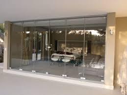 frameless sliding folding door