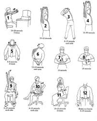 desk exercises for repetitive stress injury cal journals and articles desk exercises exercises and yoga