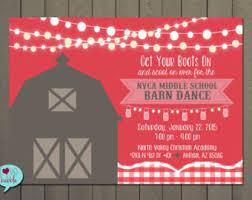 Dance Invitation Ideas Barn Dance Invitation Ideas 20590 Invites By Web