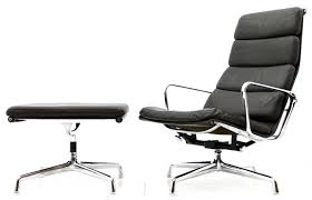 eames soft pad lounge chair. Soft Pad Lounge Chair With Ottoman, EA 222 \u0026 223, By Charles Eames A