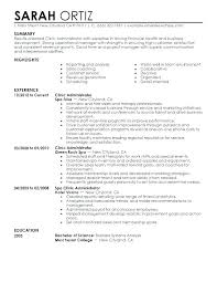 Administrative Secretary Resume Sample Best of Administrative Resumes Examples Yomm