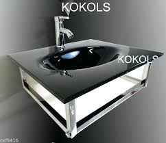 bathroom vanity furniture black tempered glass bowl vessel sink faucet glass bowl vanity glass bowl vanity