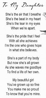 Best 25+ Daughter poems ideas on Pinterest | Mother daughter poems ...