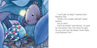 rainbow fish book pages