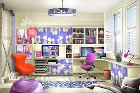 home office home office workstation designing. large colorful home office with lshaped builtin desk workstation designing