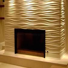 china texture wall panels mdf 3d wave