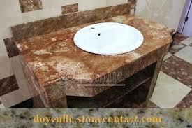 bathroom vanity tops sinks. tea rose marble bathroom vanity tops wt white top mount ceramic . sinks s
