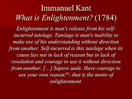the enlightenment ppt 2 immanuel kant