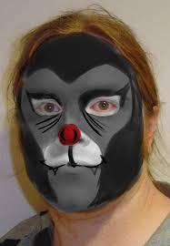 basil bat face paint concept by legendbourne
