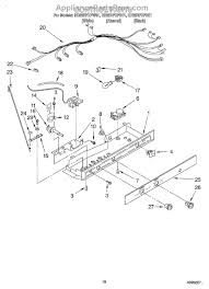 whirlpool w10822278 defrost timer appliancepartspros com part diagram