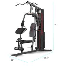 Impex Home Gym Exercise Chart Marcy 150 Lb Multifunctional Home Gym Station For Total Body Training