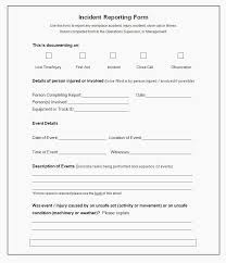 Incident Report Template Microsoft Word Stunning 48 Incident Report Templates Pdf Doc Report Template Microsoft Word