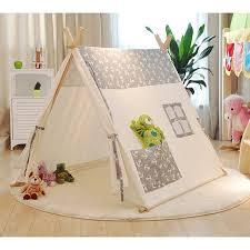 Popular 100% cotton kid teepee tent Sailors pure cotton baby children tents  tents Indoor play