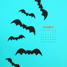 October 2020 desktop calendar ...