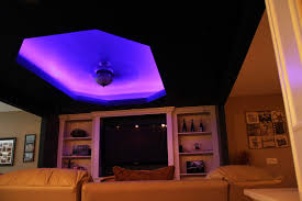 ceiling cove lighting. LED Color Changing Ceiling Cove Lighting Contemporary-family-room