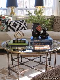 marvellous how to style a round coffee table
