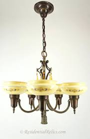 5 light chandelier with shades bridges 5 light chandelier with cased stenciled shades circa 5 light 5 light chandelier with shades