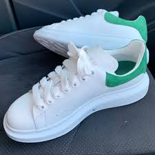 Alexander Mcqueen White Green Mens Mr Undivided