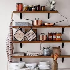 charming wood shelf kitchen reclaimed shelving bracket west elm scroll to previous item wall cabinet ikea