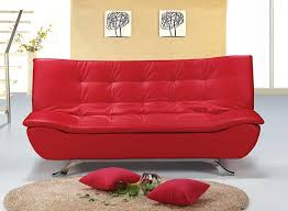 red leather sofa bed for appealing sofa inexpensive sofa beds small spaces decor ideas affordable
