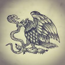 mexican flag eagle drawing. Brilliant Eagle Eagle  Snake Cactus Mexico Flag By  Ranz Inexpensive Dates  Flag In Mexican Drawing A