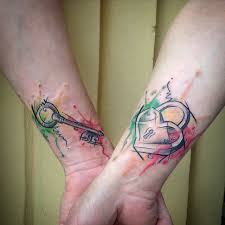 Dneska Jedno Manzelsky Tetovani Po Rasgovsku Barvy Na P Flickr