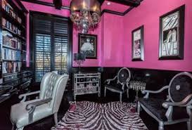 pink home office. 2 Tags Eclectic Home Office With Exposed Beam, High Ceiling, Wainscoting, Carpet, Hardwood Floors Pink T