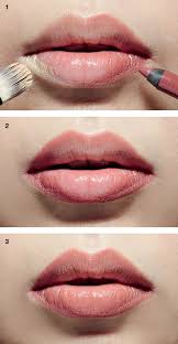 step 1 brush or dab a very small amount of foundation at the lip corners makeup artiste larry yeo says to avoid overload use the remaining