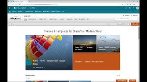 sharepoint online templates modern theming spfx solution sharepoint online modern themes and