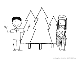 Small Picture Coloring Pages from Camp New Humble Pie Movie KICKS TV
