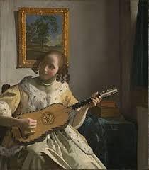 「リュートを調弦する女」の画像検索結果