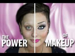 nikkie tutorials half face makeup action mu2 the power of makeup i 39 m not wearing