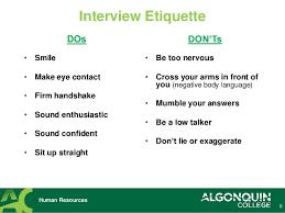 Interview Tips Tips For A Successful Job Interview Under Fontanacountryinn Com