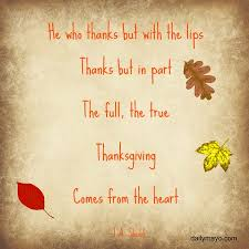 Quotes About Thanksgiving Impressive Quotes For Thanksgiving Archives Daily Mayo