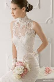 25 stunning halter neckline wedding dresses weddingomania