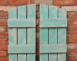 Rustic Window Shutters (2) 36