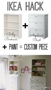 hack ikea furniture. Customize Ikea Furniture - Paint Transformation! Hack
