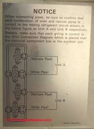 split system air conditioners heat pump repairs refrigerant sanyo schematic showing two separate refrigeration circuits for this compressor condenser unit c daniel