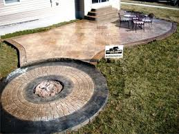 concrete patio cost photo 3 of 7 great average 1 stamped best regarding laying uk concrete patio cost