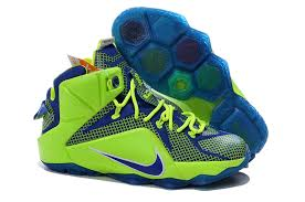 lebron mens. cheap lebron 12 men fluorescent green blue mens e