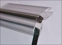 magnetic shower door seals