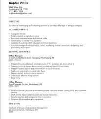 Accounts Payable Resume Objective