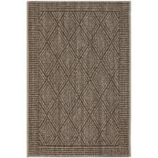 safavieh palm beach 2 x 3 power loomed sisal and jute rug in silver rugs carpets best canada