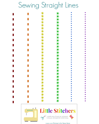 sewing machine practice sheets little stitchers week 2 printable pack welcometothemousehouse com