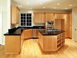 natural maple cabinets kitchen interior design ideas colors with white quartz countertops inter
