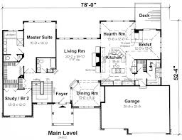 House Plan at FamilyHomePlans comContemporary Ranch Traditional House Plan Level One