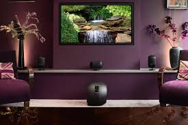 bowers and wilkins home theater speaker system with pv1d subwoofer. forming the basis of a completely revised mini theatre concept, b\u0026w m-1 satellite speaker combines cleaner aesthetic with dramatically improved bowers and wilkins home theater system pv1d subwoofer