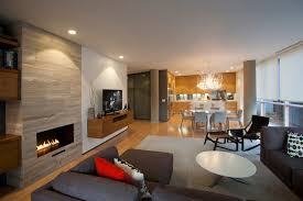 living room with electric fireplace and tv. Electric-fireplace-tv-stands-Family-Room -Contemporary-with-blinds-column-cushions-floating-entertainment-cabinet-great- Room-integrated Living Room With Electric Fireplace And Tv