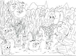Flower Garden Coloring Pictures Pages Printable Vegetable Pag