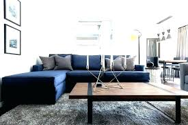navy blue sectional sofa with white piping inspirational living room for couch orange county